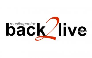 Logo back2live - Mäding Veranstaltungstechnik