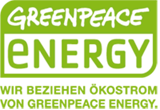 Logo Greenpeace - Mäding Veranstaltungstechnik